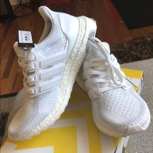 543af6cb3d56de adidas Shoes - Adidas Ultra Boost Triple White 5Y - Womens 6.5